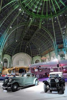 Grand Palais Paris: 110 ans d'automobile. En route vers le passé.