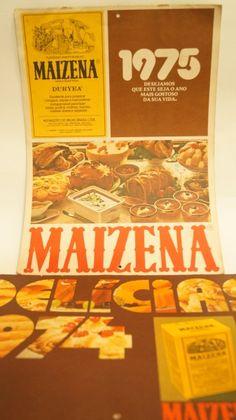 Calendários Maizena | Nostalgiarama