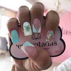 Lilac Nails With Glitter, Glitter Nails, Fun Nails, Semi Permanente, Pedicure, Nail Art, Work Nails, Simple Toe Nails, Classy Gel Nails