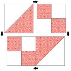 Hello! My name is Allison Jensen of Woodberry Way and I'm excited to be back in the Bake Shop today with an easy quilt pattern. This one uses Charm squares for a crib quilt, or a Layer Cake … Charm Pack Quilt Patterns, Layer Cake Quilt Patterns, Quilt Square Patterns, Layer Cake Quilts, Beginner Quilt Patterns, Quilt Block Patterns, Pattern Blocks, Quilt Blocks, Charm Square Quilt