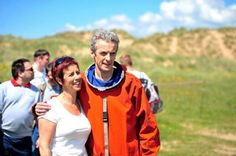 "Capaldi attributes a lot of his success to his wife. ""She's fabulous and I love her,"" he says. ""She looks after me and keeps my feet on the ground. I don't always want my feet on the ground but she keeps them there [another long laugh]. I think it's important to try and have perspective, you know, about how lucky we are. Elaine certainly helps me with my perspective."""