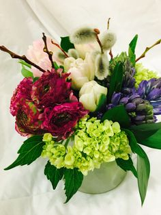 Send Delft Blue Hyacinth in Spokane, WA from Bloem.Flowers.Chocolates.Paperie, the best florist in Spokane. All flowers are hand delivered and same day delivery may be available.