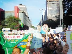 JORNAL REGIONAL EXPRESS: Protestos contra governo e corrupção reúnem dois m...