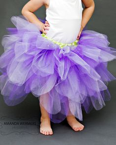 Purple Fairy Tutu