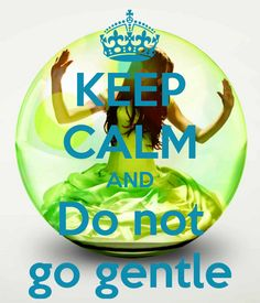 KEEP CALM AND Do not go gentle - Matched Trilogy - Dylan Thomas
