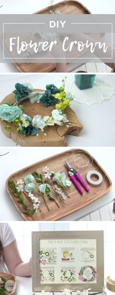 Summer is here! Celebrate the season of music festivals and outdoor parties with this tutorial for DIY Flower Crowns from Hallmark. Using faux flowers and a few crafting supplies, you can make your very own summer accessory! Diy Flower Crown, Diy Flowers, Flower Crowns, Faux Flowers, Fun Crafts For Kids, Baby Crafts, Kids Diy, Summer Diy, Summer Crafts