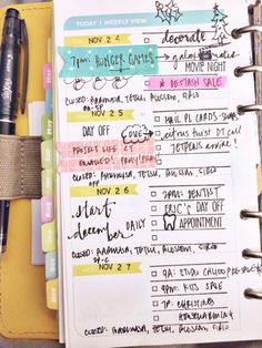 #filofax #dayplanner