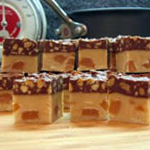 Caramel Mountain Candy Squares