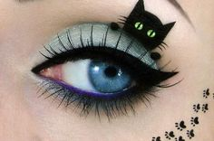 Feline-Inspired Eye Paintings - Tal Peleg's Cat-Inspired Makeup Art Takes the Cat Eye to a New Level (GALLERY)