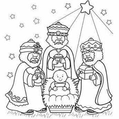 Three Wise Men Coloring Page – Free Christmas Recipes, Coloring Pages for Kids & Santa Letters – Free-N-Fun Christmas Make your world more colorful with free printable coloring pages from italks. Our free coloring pages for adults and kids. Preschool Christmas, Christmas Nativity, Christmas Activities, Christmas Art, Christmas Recipes, Christmas Printables, Christmas Pictures, Nativity Coloring Pages, Bible Coloring Pages