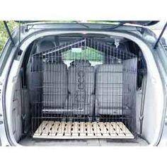 diy car barrier dog | Dog Gate/cargo barrier & top tether ...