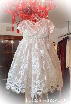 2016 New Angela Baby Baptism Christening Gown First Communion Dress Lace Band in Clothing, Shoes & Accessories, Baby & Toddler Clothing, Christening | eBay
