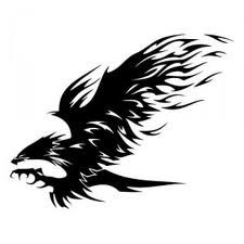 Amazing Black Tribal Eagle Tattoo Design by TyrApollo Tattoos And Body Art eagle tattoo designs Tribal Eagle Tattoo, Tribal Animal Tattoos, Tribal Animals, Eagle Tattoos, Tribal Art, Temporary Tattoo Designs, Tattoo Designs Men, Art Designs, Tattoo Drawings