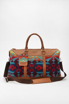 Pendleton Classic Weekender Bag - for the airplane.