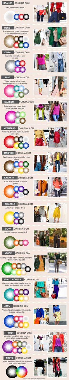 The ultimate secret science to wearing colour clothing color combinations, colour wheel combinations, combination Mode Outfits, Fashion Outfits, Womens Fashion, Fashion Tips, Dress Fashion, Office Outfits, Fashion Clothes, Office Dresses, Casual Outfits