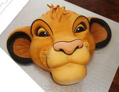 Lion King cake. -50 Awesome 90s Themed Cakes And Cupcakes