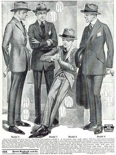 1930's men's fashion | Fashion for men 1930's | 1930s Men's Fashion