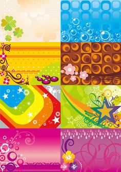 Colorful background vector map download