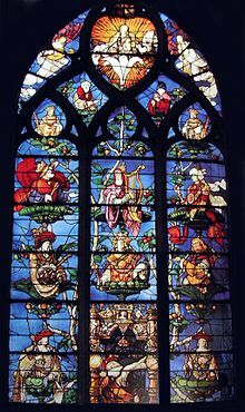 Jesse Tree at Saint-Étienne church in Beauvais, France, by Engrand Le Prince, 1522–1524.