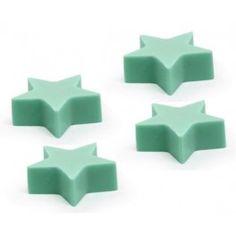 Molde para hacer jabón 4 Estrellas, con este molde podrás hacer pequeñas velas y jaboncitos, ideal para regalar esta navidad. Encuentra más en Gran Velada.