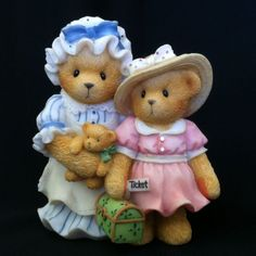 Cherished Teddies Charissa And Ashylyn Every Journey
