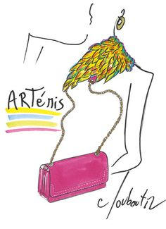 Christian Louboutin - Artemis Drawing