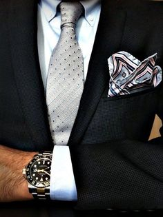 File under: Pocket Squares, Ties, Blazers, Watches