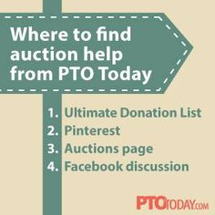If your group is planning an upcoming auction, we have some great resources that you have to share with your planning team.