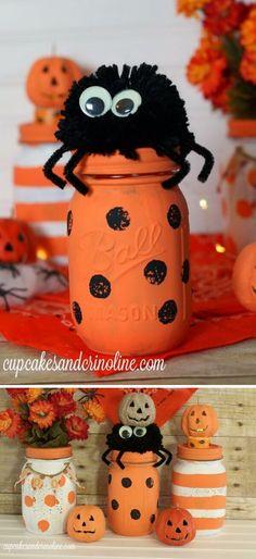 Creative DIY Mason Jar Halloween Crafts To Spice Up Your Fall - Best diy mason jar halloween crafts ideas