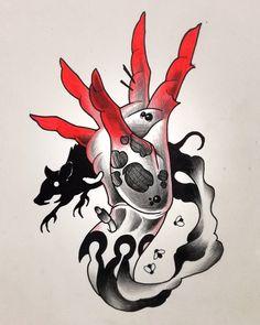 Hand of apocalypse - Pestilence 2/4 #hand #rat #smoke #macabre #surreal #grottesque #darkart #pencil #pen #marker #darkart #tattoo #sketch #tattooing #artwork #artstagram