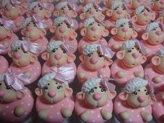 Biscuit ovelhinha delicada lembrancinha