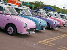 Nissan Figaro. I'll take one in every color!!!