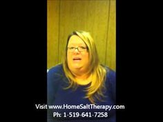 Saltair - Ultrasonic Salinizer - Home Salt Therapy - customer testimonial explains about salt therapy and how Saltair helps her with asthma and shortness of . Breathe Easy, Salt, Therapy, Youtube, Counseling, Youtubers, Youtube Movies