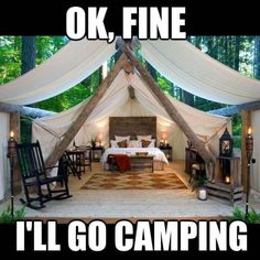 We all need time out. Time for ourselves. Time away to just be. Time to think. Ok fine I'll go camping if it looks like this! Stupid Funny Memes, Funny Relatable Memes, Funny Posts, Hilarious, Funny Stuff, Funny Humour, Camping 3, Camping Humor, Winter Camping