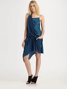 Helmut Lang  Helios Belted Pocket Dress