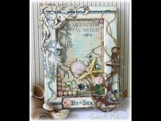 Mixed Media Cottage Canvas Tutorial by Gabrielle Pollacco #tutorials #videos