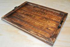 Tray large tray ottoman tray personalized tray by KikoLivingGoods, $70.00