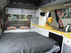 5 Mars RV Dodge Caravan Motorhome Conversion 0023