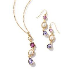 Decadent Delight Necklace & Earring Gift Set