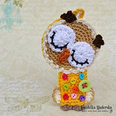 Nathaly - the sleeping owl :-) - Magic with hook and needles