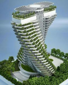 The Agora Garden tower in Taipei, Taiwan