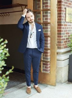 How It's Done: Summer Suiting – J.Crew Blog