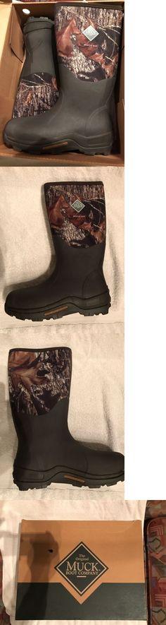 Hunting Footwear 153008: Muck Boot Woody Sport Cool Mossy Oak Camo ...