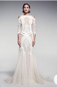 Vintage , boho , wedding dress
