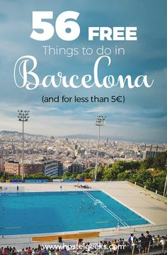 Huge selection on FREE things and activities for less than 5€ in Barcelona: https://hostelgeeks.com/free-things-to-do-in-barcelona/ More info about what to do in Barcelona at https://hostelgeeks.com/23-fun-things-to-do-barcelona/ #thingstodoin #barcelona #whattodobarcelona #barcelonawhattodo #barcelonafunthings #funthingsbarcelona #traveleurope #oneweekbarcelona #barcelonaguide #barcelonaactivities