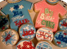 Big Brother & Big Sister Cookies