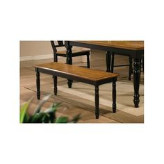 Found it at Wayfair - Courtdale Wooden Dining Bench