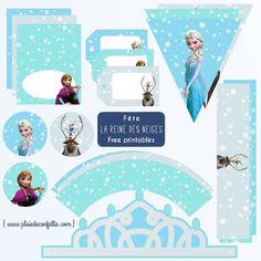 fête la Reine des neiges decoration imprimable gratuite 2