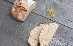 Lieblingsbrot aus Dinkel und Roggen - Backen mit Christina Vegan Recipes, Cooking Recipes, Vegan Food, Feta, Side Dishes, Favorite Recipes, Bread, Cheese, Snacks