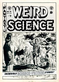 Weird Science #14 cover, Wally Wood